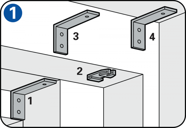 Gordijnrail ophangen en gordijnen monteren