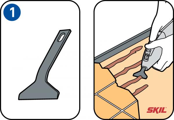 Geliefde Voor welk karwei gebruik ik welk schraper hulpstuk? CS67