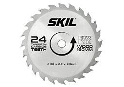 SKIL Hardmetalen zaagblad (Ø 190 mm, 24 tanden)