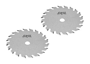 SKIL Set zaagbladen met hardmetalen tanden (2 stuks)