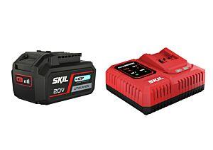 SKIL 3111 AA Accu ('20V Max' (18V) 4,0 Ah 'Keep Cool' Li-Ion) en 'Rapid'-oplader