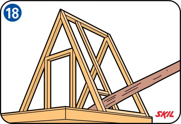 Boomhut bouwen - Een helling aanpassen ...