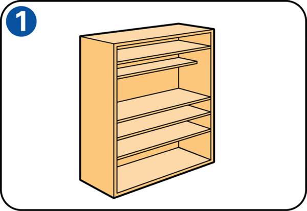 Extra legplank in je kast maken - Planken maken in een kast ...