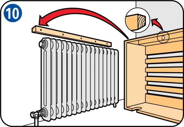 radiatorombouw maken. Black Bedroom Furniture Sets. Home Design Ideas