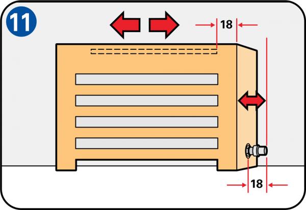Radiatorombouw maken - Comment fabriquer un cache radiateur ...